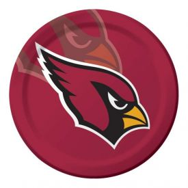 NFL Arizona Cardinals Paper Dinner Plates Sturdy Style 9