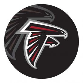 NFL Atlanta Falcons Paper Dinner Plates Sturdy Style 9