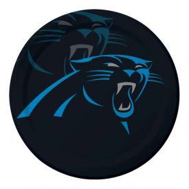 NFL Carolina Panthers Paper Dinner Plates 9