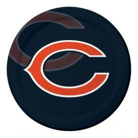 NFL Chicago Bears Paper Dinner Plates 9