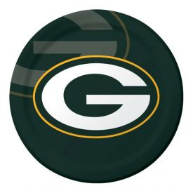 NFL Green Bay Packers Paper Dinner Plates 9