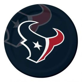 NFL Houston Texans Paper Dinner Plates 9