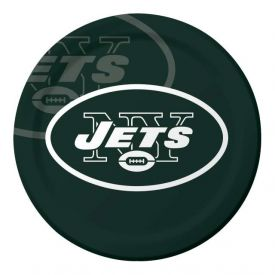 NFL New York Jets Paper Dinner Plates 9