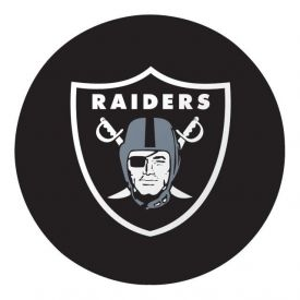 NFL Oakland Raiders Paper Dinner Plates 9