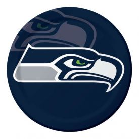 NFL Seattle Seahawks Paper Dinner Plates 9