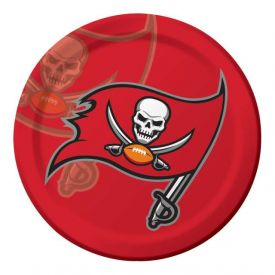 NFL Tampa Bay Buccaneers Paper Dinner Plates 9