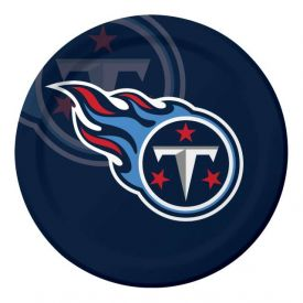 NFL Tennessee Titans Paper Dinner Plates 9