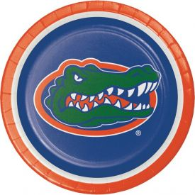 University of Florida Paper Dinner Plates 9