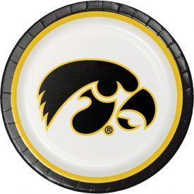 University of Iowa Paper Dinner Plates 9