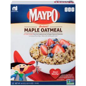 Maypo Maple Flavored Oatmeal 42oz.