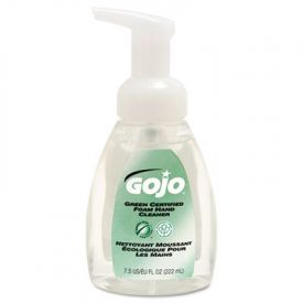 GOJO® Green Certified; Foam Soap, Frag.-Free, Clear, 7.5 oz. Pump