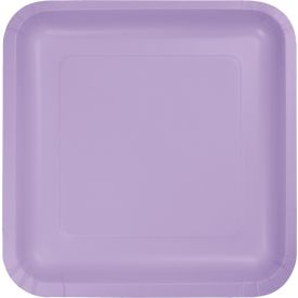 Luscious Lavender Dinner Plate Square 9