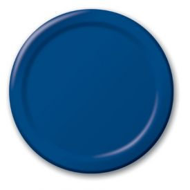 Navy Paper Dinner Plates 9