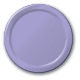 Luscious Lavender Paper Dinner Plates 9