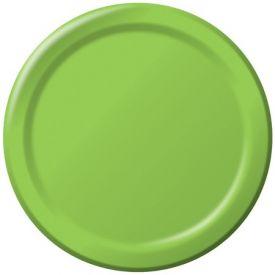 Fresh Lime Paper Dinner Plates 9