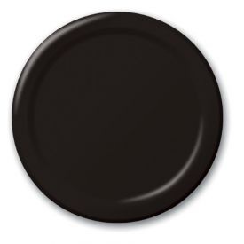 Black Velvet Paper Dinner Plates Paper 9