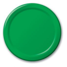 Emerald Green Paper Dinner Plates 9