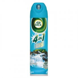 Air Wick® MEGA-SIZE 4 in 1 Aerosol Air Freshener, 8 oz, Fresh Waters