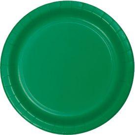 Emerald Green Banquet Paper Plates 10