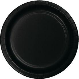 Black Velvet Banquet Plate Paper 10