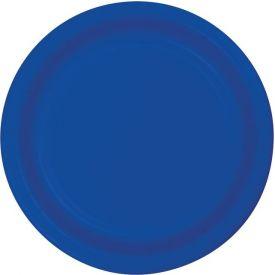 Cobalt Banquet Paper Plates 10