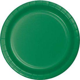 Emerald Green Paper Plates 7