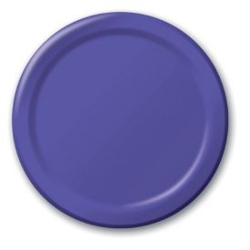 Purple Appetizer or Dessert Plates 7