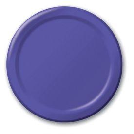 Purple Paper Dinner Plates 9