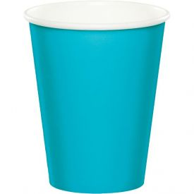 Bermuda Blue Cups, Hot/Cold 9 Oz