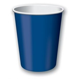 Navy Cups, Hot/Cold 9 Oz