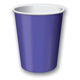Purple Cups, Hot/Cold 9 Oz