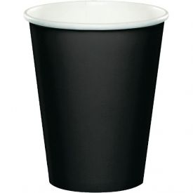 Black Velvet Cups, Hot/Cold 9 Oz Paper