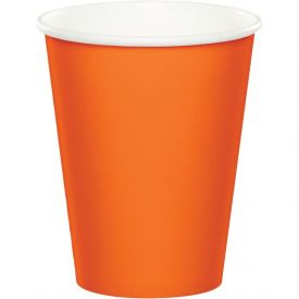 Sunkissed Orange Hot/Cold Cups 9 oz