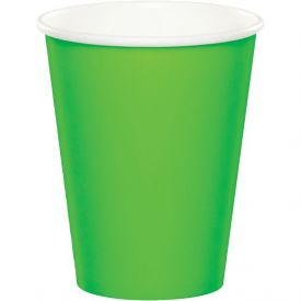 Fresh Lime Cups, Hot/Cold 9 Oz