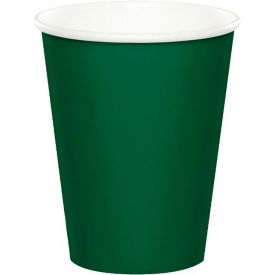 Hunter Green Cups Hot Cold 9oz