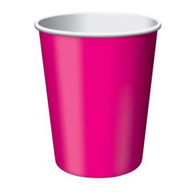 Hot Magenta Cups, Hot/Cold 9 oz
