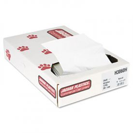 Jaguar Plastics; IS Can Liners Bulk Pack, 60gal, 13 Microns, 38 x 60