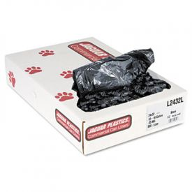 Jaguar Plastics; Low-Density Can Liners, 12-16 Gal, .35mil, Black