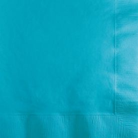 Bermuda Blue Beverage Napkins 3-Ply