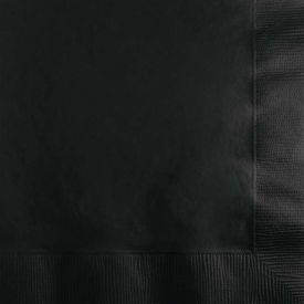Black Velvet Beverage Napkins 2-Ply