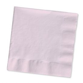 Classic Pink Beverage Napkins, 2 Ply
