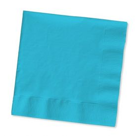Bermuda Blue Beverage Napkins, 2 Ply