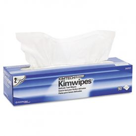 Kimtech* KIMWIPES* Delicate Task Wiper, Tissue, 14 7/10 x 16 3/5