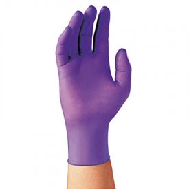 Kimberly-Clark* PURPLE NITRILE* Exam Gloves, X-Large, Purple