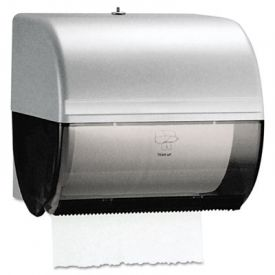 Kimberly-Clark Omni Roll Towel Dispenser, 10 1/2 x 10 x 10, Smoke/Gray