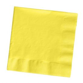 Mimosa Dinner Napkins, 3-Ply, 1/4 Fold