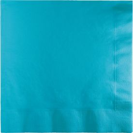 Bermuda Blue Dinner Napkins, 3-Ply, 1/4 Fold