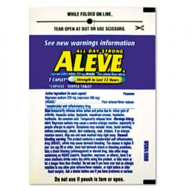 Aleve® Pain Reliever Tablets Refill Packs, One-Pill Packets