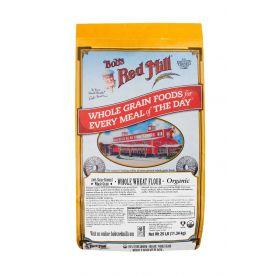 Bob's Red Mill Organic Whole Wheat Flour 25lb.
