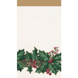 Winter Holly Guest Napkins 3-Ply